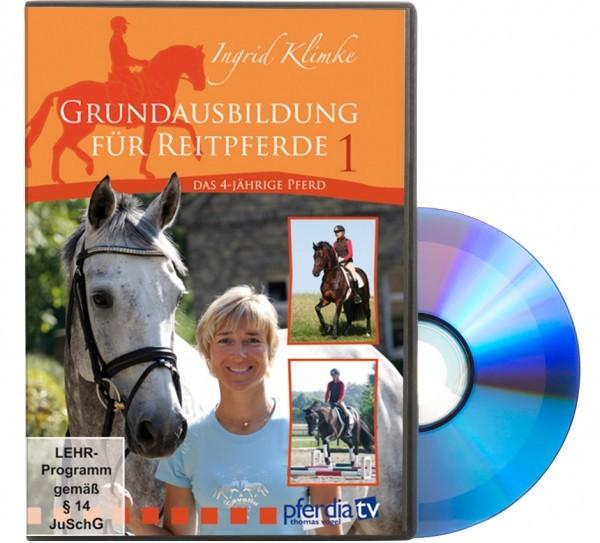 DVD-Grundausbildung für Reitpferde Teil 1