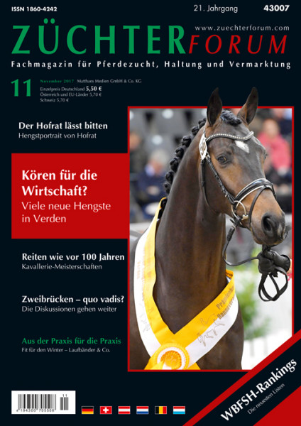Züchterforum Heft 11/2017