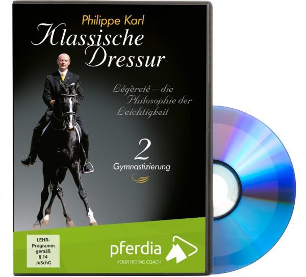 DVD-Klassische Dressur Teil 2-Gymnastizierung