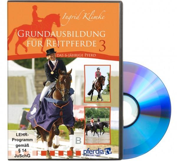 DVD-Grundausbildung des Reitpferdes Teil 3