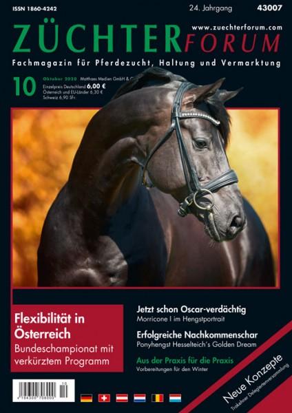 Züchterforum Heft 10/2020