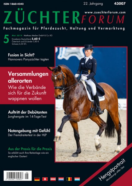 Züchterforum Heft 05/2019
