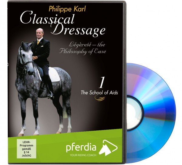 DVD-Klassische Dressur Teil 1-Hilfen