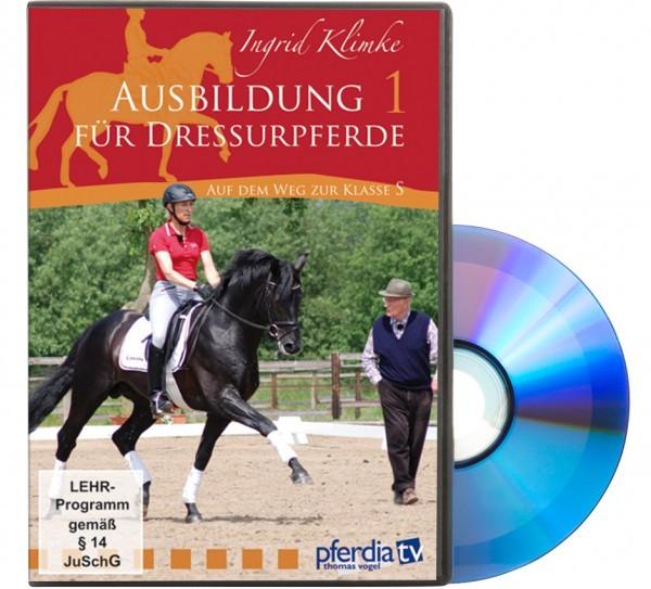 DVD-Ausbildung für Dressurpferde -Auf dem Weg zur Klasse S