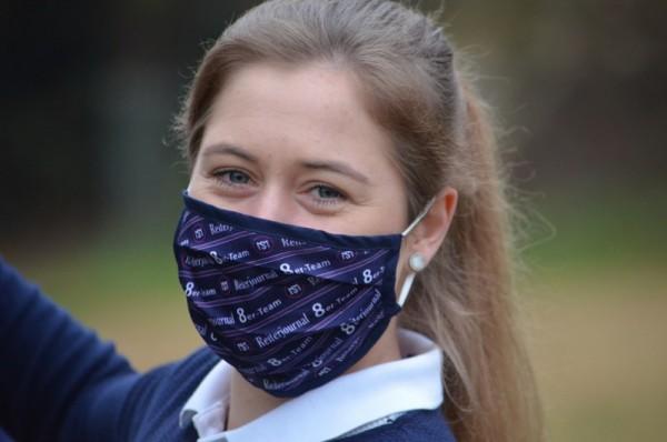 Reiterjournal 8er-Team Mund- und Nasenschutzmaske
