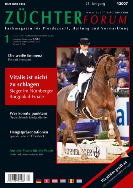 Züchterforum Heft 01/2017