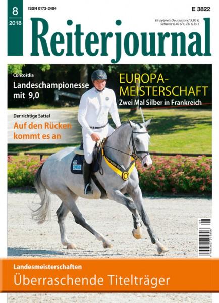 Reiterjournal Heft 08/2018