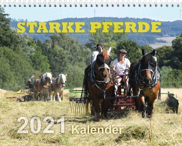 Kalender Starke Pferde 2021