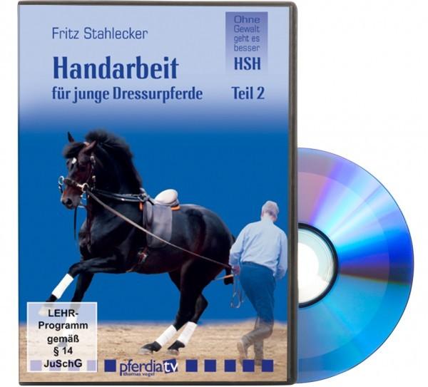 DVD-Handarbeit für junge Dressurpferde Teil 2