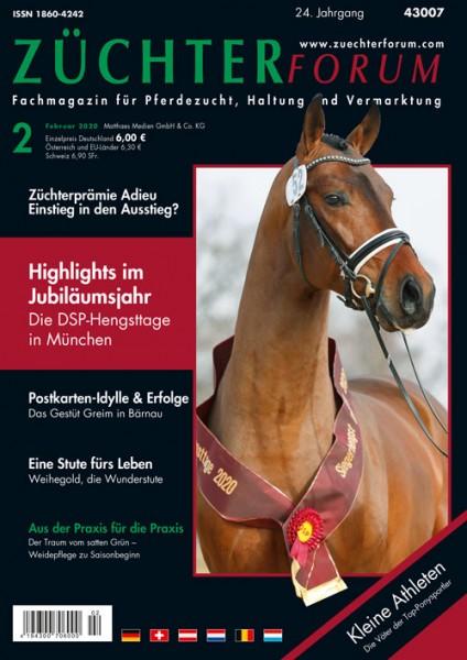 Züchterforum Heft 02/20