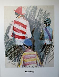Drei Jockeys