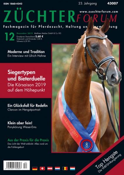Züchterforum Heft 12/2019