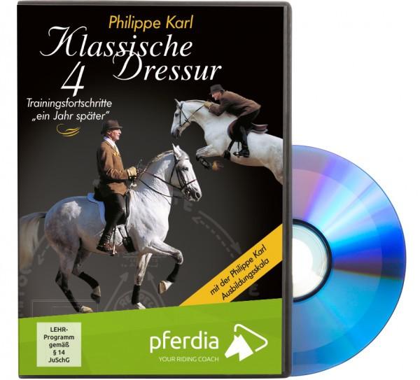DVD-Klassische Dressur Teil 4-Trainingsfortschritte