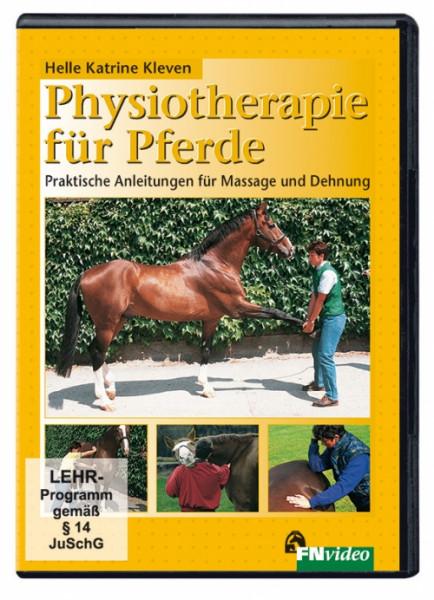 DVD - Physiotherapie für Pferde