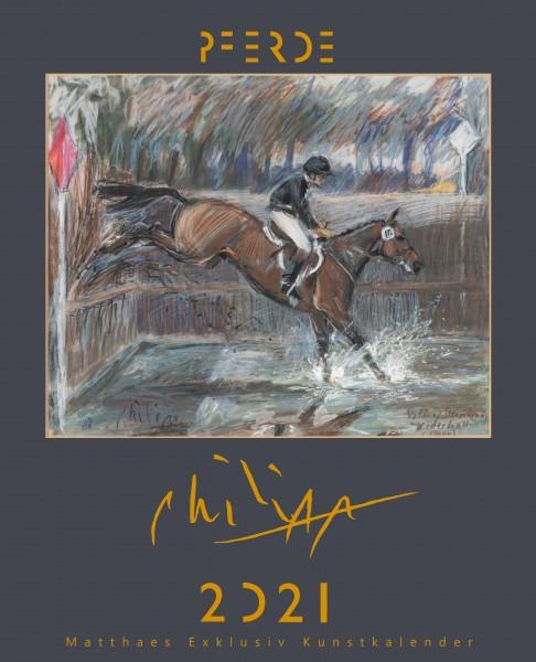 Kunstkalender Klaus Philipp 2021- 2.Kalender zum halben Preis