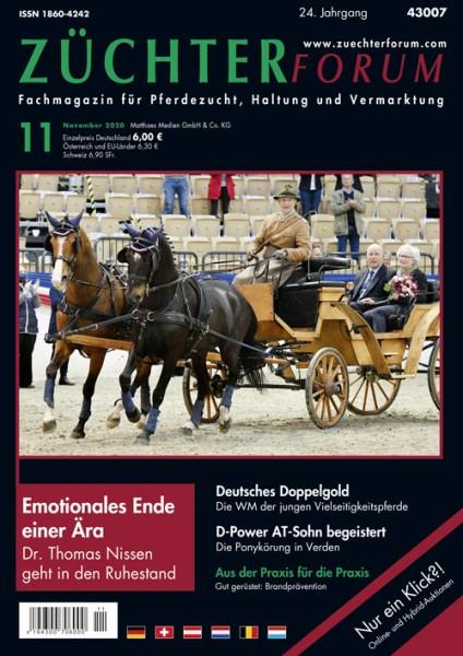 Züchterforum Heft 11/2020