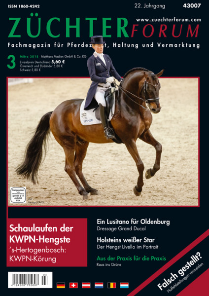 Züchterforum Heft 03/2018