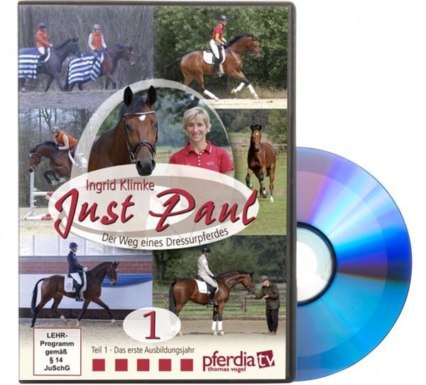 DVD-Just Paul/Der Weg eines Dressurpferdes