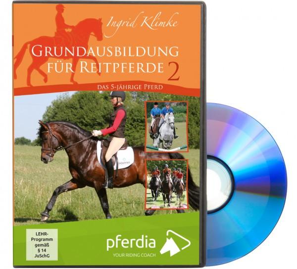 DVD-Grundausbildung für Reitpferde Teil 2