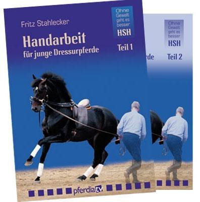 DVD-Set Handarbeit für junge Dressurpferde