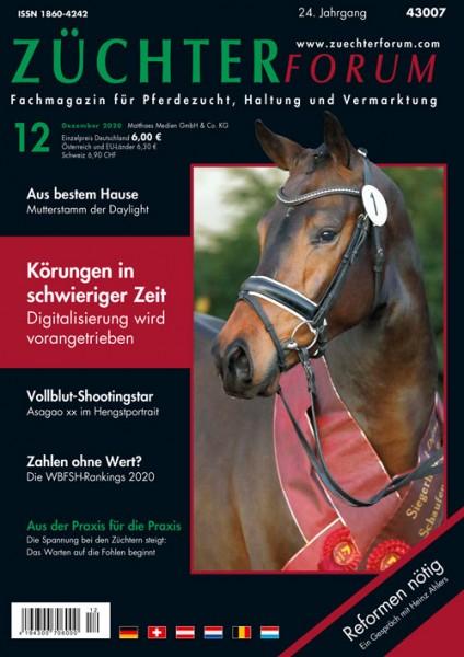 Züchterforum Heft 12/2020